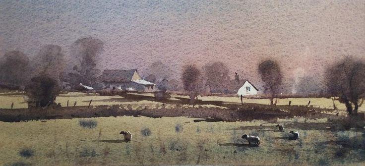 Peter Cronin Morning near Frampton.