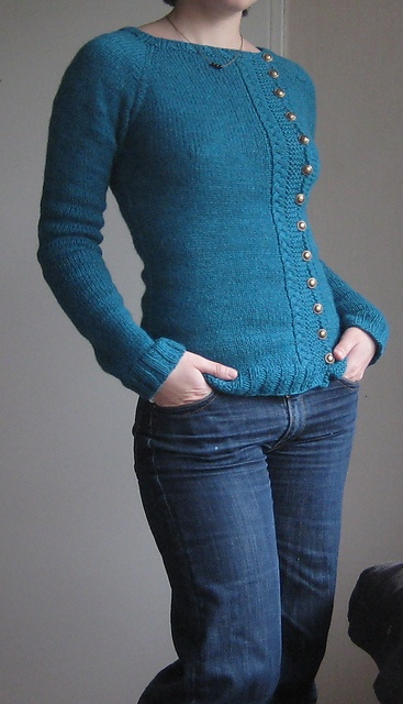 Ravelry: Project Gallery for Buttony Sweater pattern by Katie Marcus