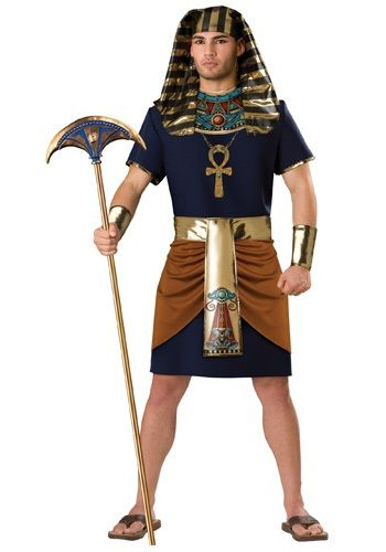 Rule the Nile as the great Amenhotep, or pretty much any ancient Egyptian ruler, in this Egyptian Pharaoh Costume. This makes a great couples costume idea!