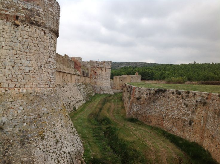 171. The Dry Moat of the Fortress of Salses in Salses-le-Château