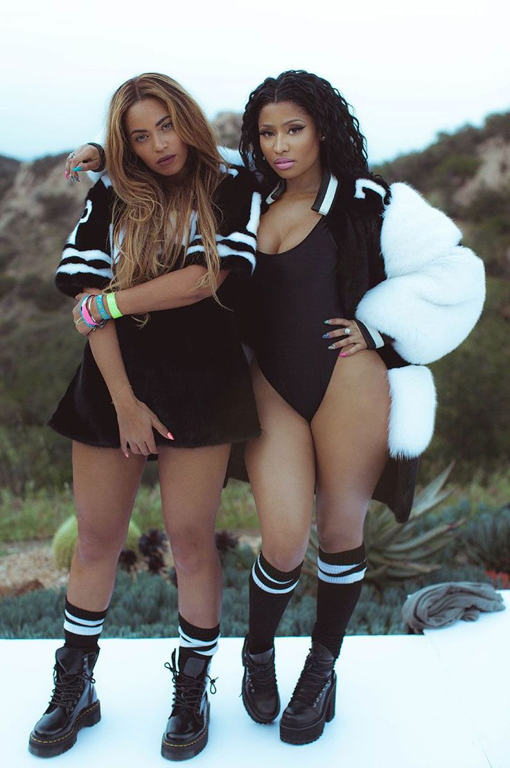 Everything Beyonce And Nicki Minaj Wear In The 'Feeling Myself' Video