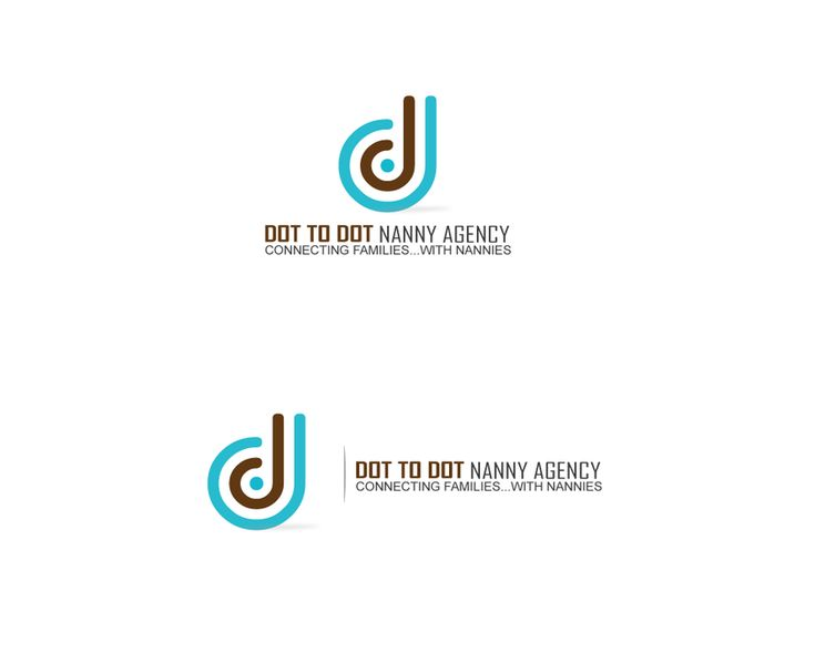 logo for Dot To Dot Nanny Agency by Lorand Coc