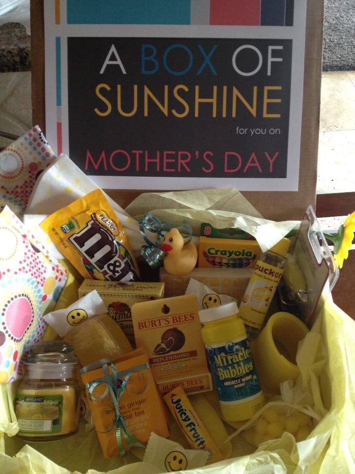 Box of Sunshine for my mom and BFFs on Mother's Day.