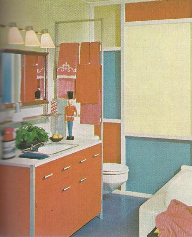17 best images about mid 20th century color on pinterest for 1960s bathroom decor