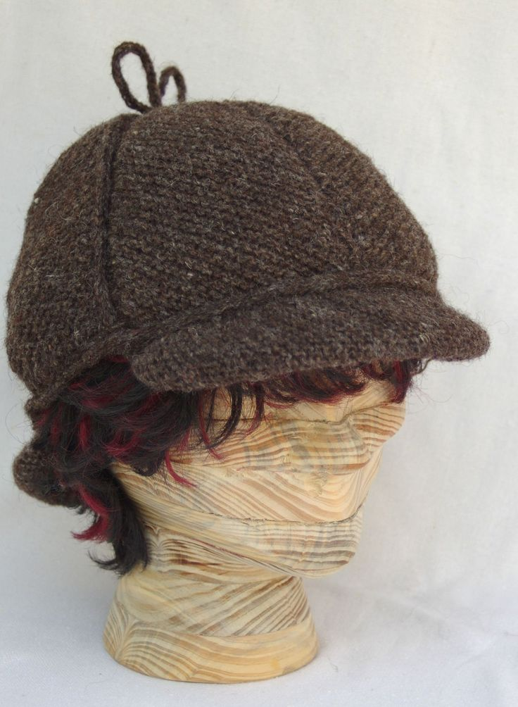Crochet Deerstalker Hat Pattern : Elementary Putting together the pieces Deerstalker Hat ...
