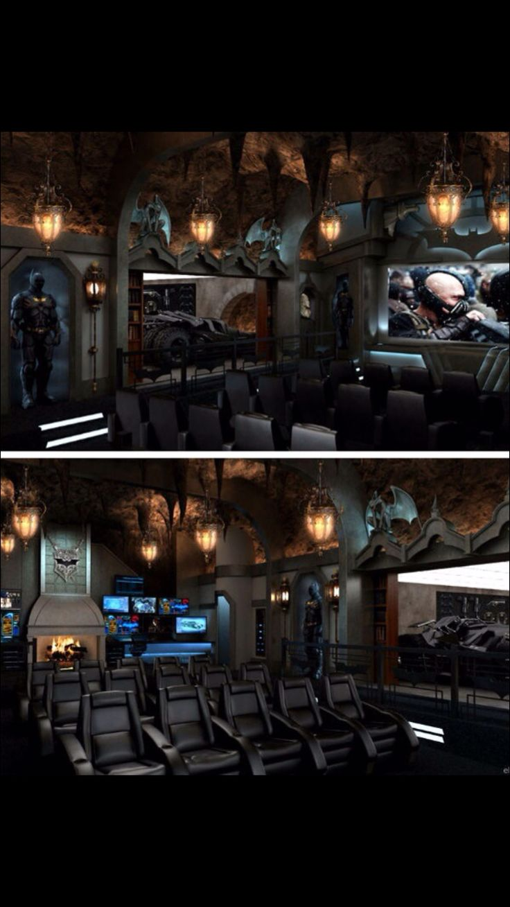 Amazingly Awesome Home Theaters | Men cave, Cave and Room