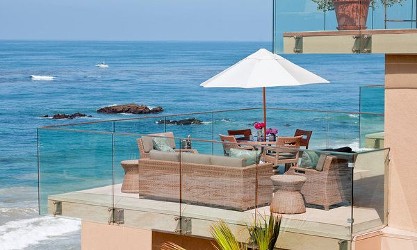 Surf and Sand Resort, Laguna Beach, CA---such an amazing hotel, falling asleep to the waves crashing. Good place to relax!