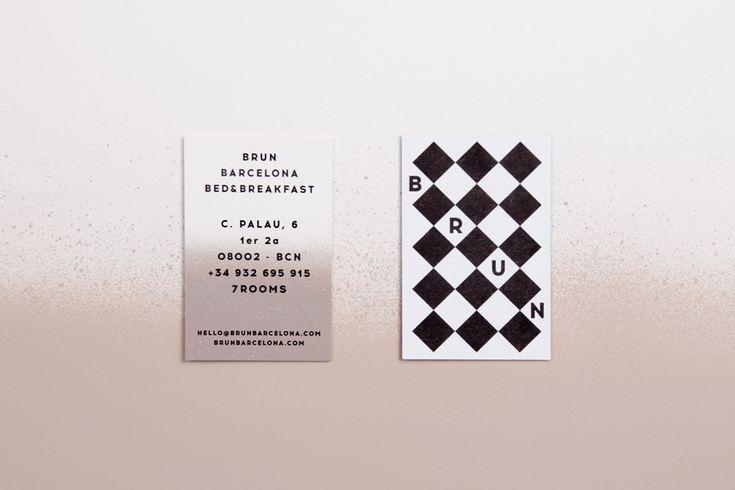 BRUN  BARCELONA BED&BREAKFAST BRAND IDENTITY 2014