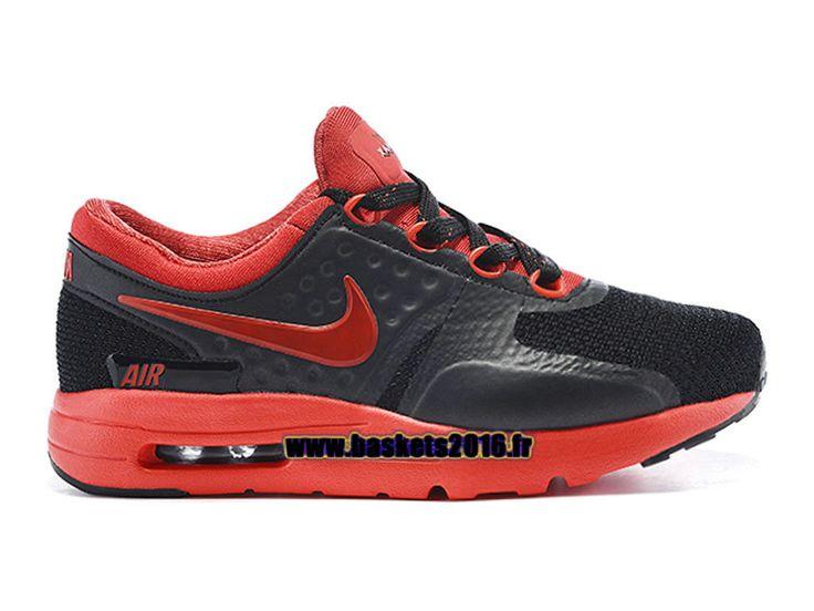 ... Boutique Officielle Nike Air Max Zero Chaussures Pas Cher Pour  Garcon/Fille Noir - Rouge
