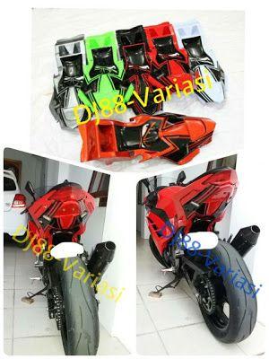 HOT ITEM Undertail FULL ninja 250 fi z250 fi sein led leting spakbor selancar kolong airbrush tipe red ninja