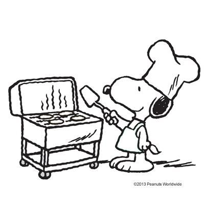 Bbq Smoker Coloring Page