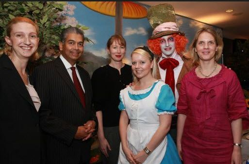 MAD HATTERS TEA #PARTY AT HYATT'S TOP OF THE TOWN