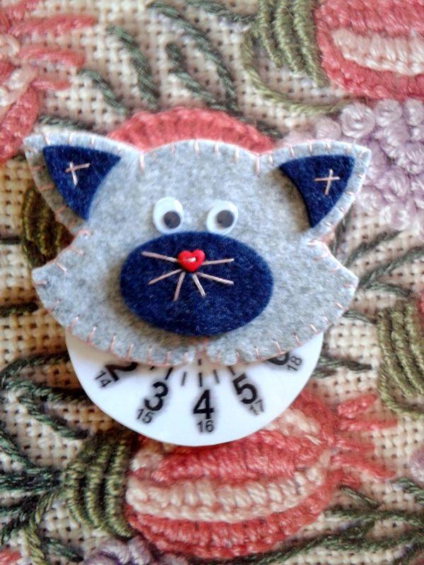 Musetto del gattino- disco orario