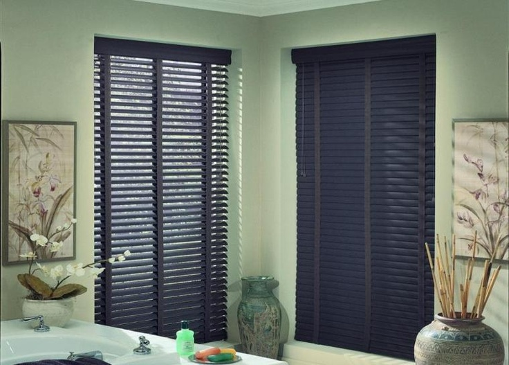 Aluminum Blinds with Cotton Tapes are an easy way to make a statement!