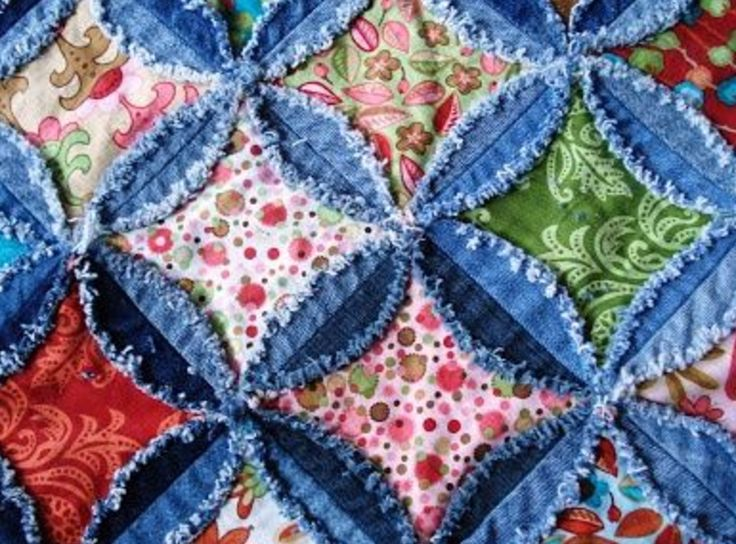 10 Best Rag Quilts Images On Pinterest Rag Quilt Baby