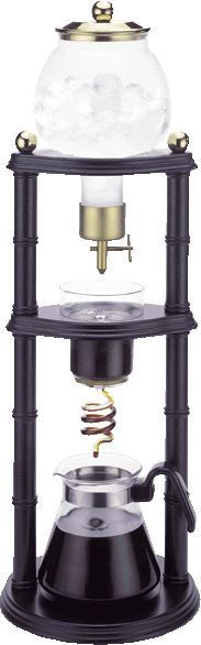 Cold drip coffee maker! If I had the money. I would so purchase one of these.