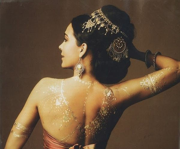 Gold henna how much does this cost because I want to get covered in it