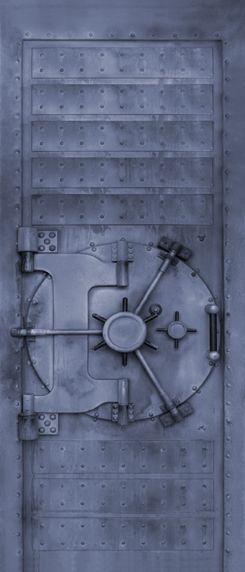 Kluisdeur Deurposter - Deuren - pimp je deur sticker