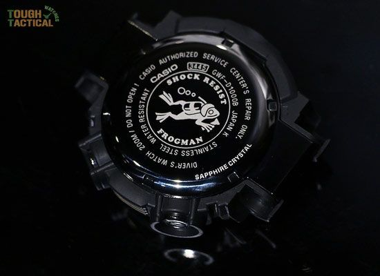 The new generation of G-Shock GWF-D1000 Frogman.