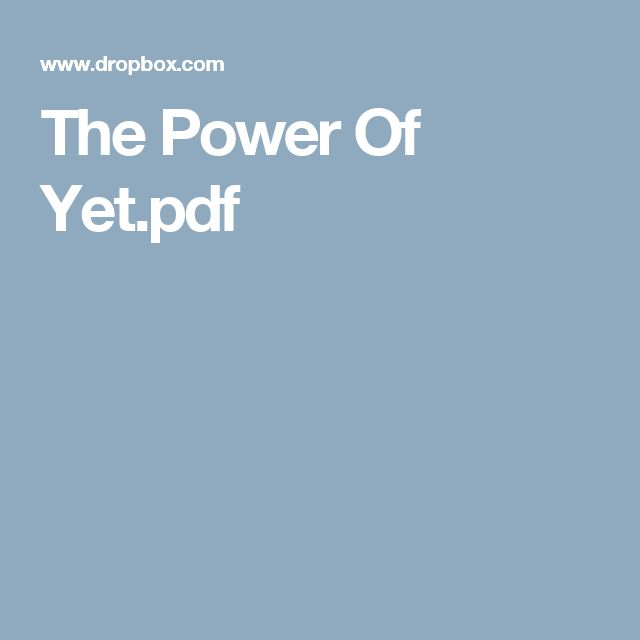 The Power Of Yet.pdf  To use with Giraffes Can't Dance and other growth mindset books.