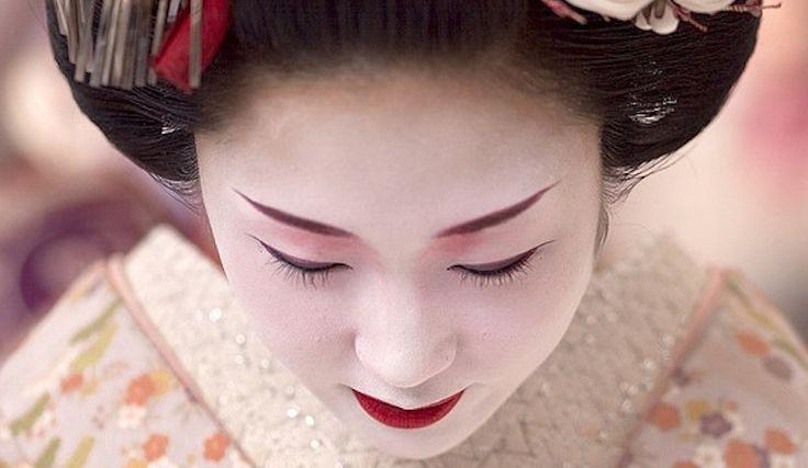 Resultado de imagen de geisha make up star
