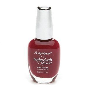 Sally Hansen Nailgrowth Miracle Nail Color Stunning Scarlet 045 fl oz 133 ml ** Want additional info? Click on the image.