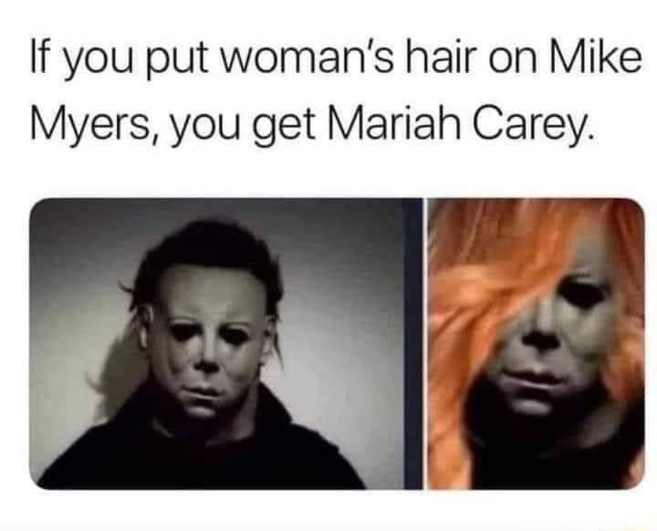 Pin By Beth Sweitzer On Hilarious Funny Memes Funny Horror Horror Movies Memes