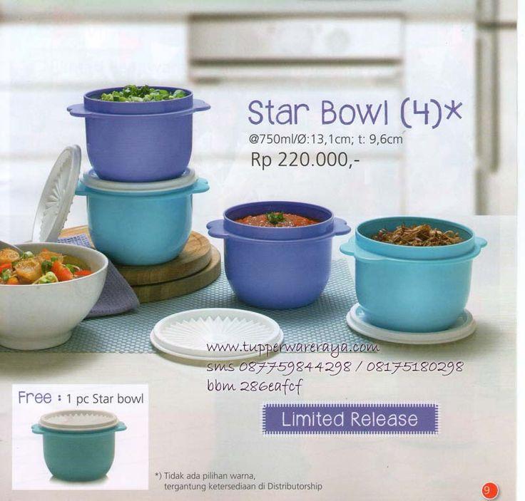 Katalog Tupperware Promo Agustus 2014 - Star Bowl