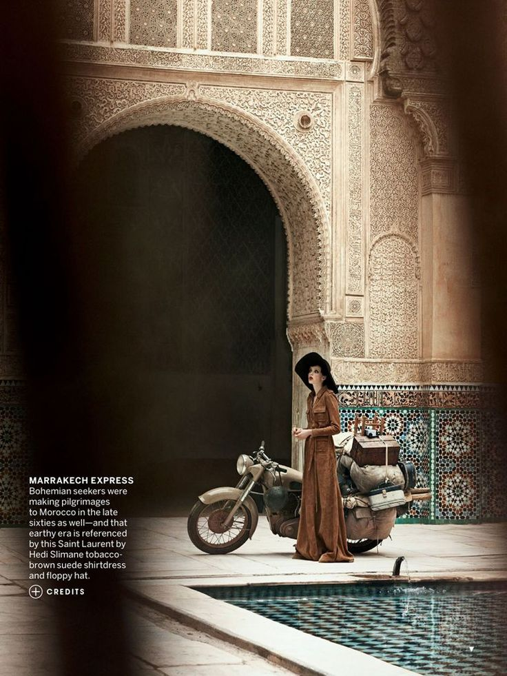 'Stardust' Edie Campbell & Otis Ferry by Peter Lindbergh for US Vogue May 2013 [Editorial] - Fashion Copious