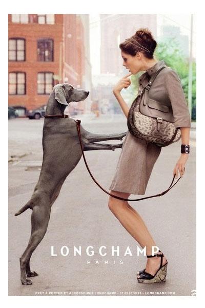 Coco Rocha para Longchamp Paris by Dane Shitagi