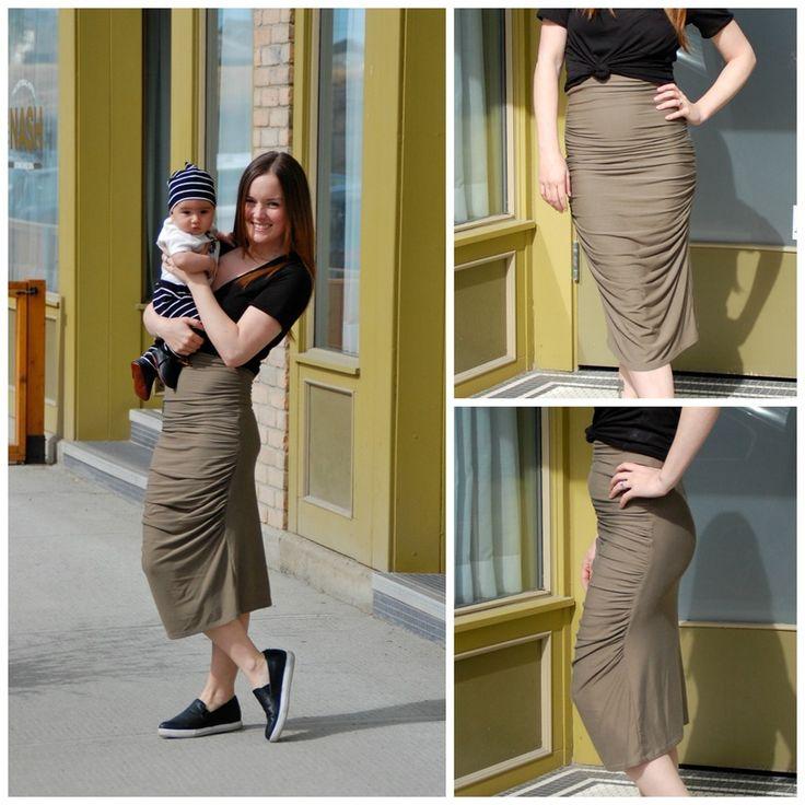 Urban Skirt #nursing #fashion #diy #creativelyinclined