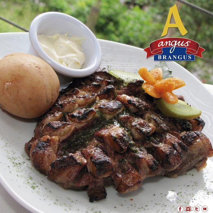 Antójate de un exquisito Malevo en Angus Brangus Parrilla Bar, corte especial de la Punta de Anca jugoso y con delicioso sabor .   Reservas: 2321632