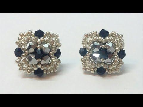 Orecchini Afrodite Collaborazione con Perline & Gioielli (DIY - Afrodite Earrings) - YouTube