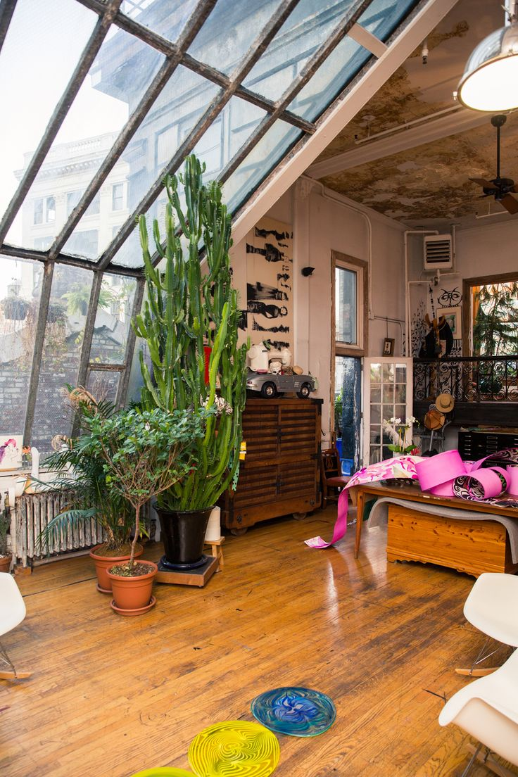"""Inside Ruben and Isabel Toledo's New York City Home: """"[The first thing I made that I loved was a] tent dress that was... I had it for a long time. It was this hideous taupe. I was ten years old and I made a tent dress that was taupe with top stitching in brown. Real adult. I think my mother must have said, 'What happened to the pretty pink?' Before that I made dolls and stuffed animals."""" —Isabel 