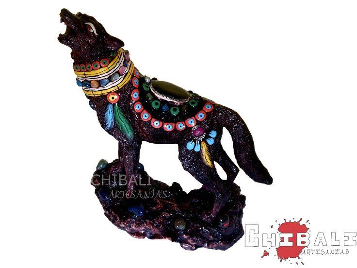 DEMES-LOB02  Obsidiana sobre la espalda y decorado a mano como principales atractivos de esta pieza.  Alto: 35 cm Largo: 26 cm
