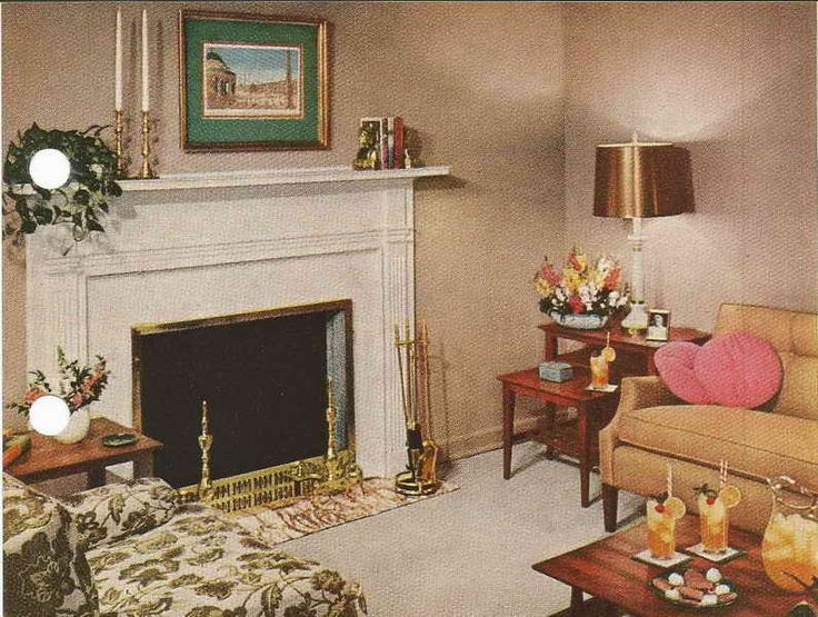 1950 S Homes Decorating Ideas Home Decor Small Living