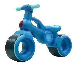he ultmate 1st bike for your little dare devil.  This bike has super wide and stable wheels making it so easy for the little kids from day one! Unique spokeless wheels make this much safer for little hands.