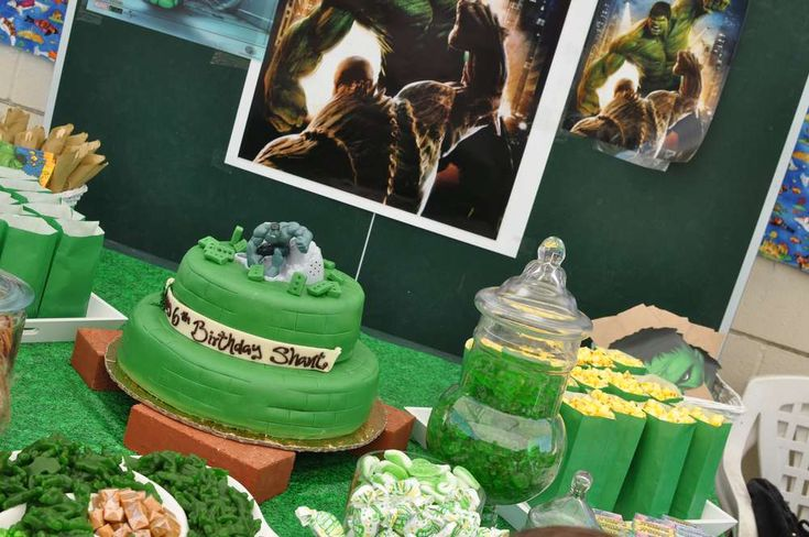 Incredible Hulk Birthday Party Ideas | Photo 2 of 47 | Catch My Party