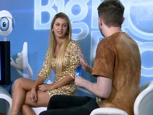 Bate-papo Tatiele (Foto: BBB / TV Globo)