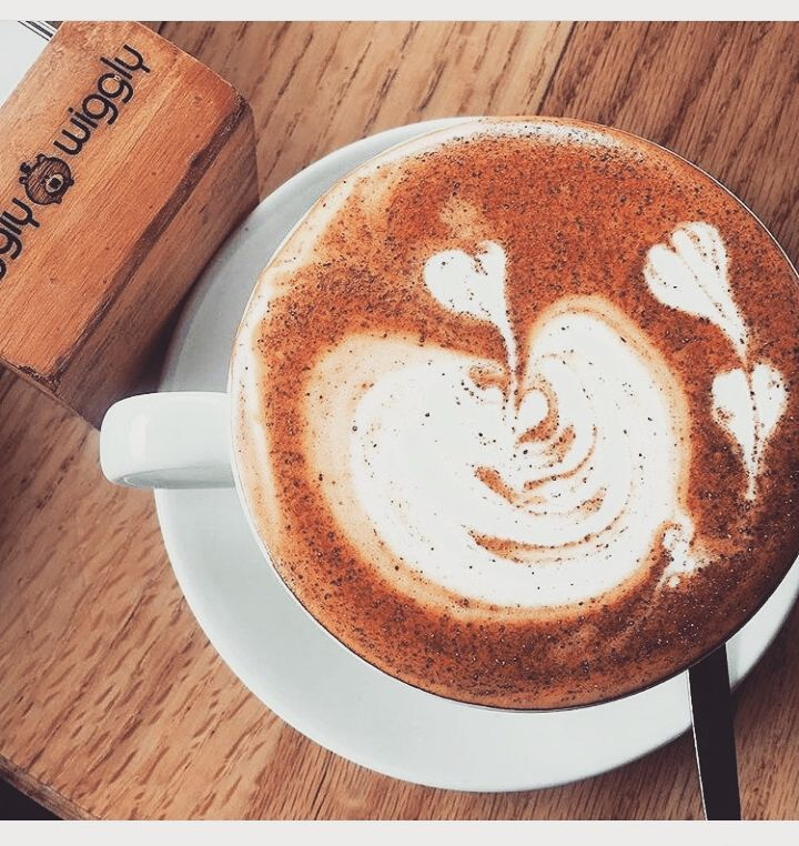 Today's weather calls for a red cappuccino and cinnamon. Get yours at @pigglywigglymidlands  opened everyday from 9am-5pm #MidlandsMeander #PigglyWiggly