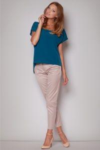 Asymetryczna bluzka oversize