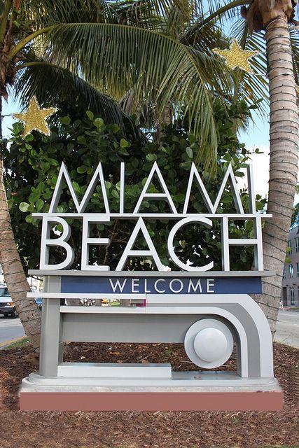 South Beach Miami Art Deco District