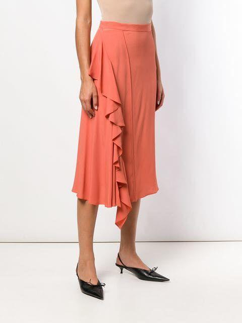 54d6f0065d Nº21 Ruffled Midi Skirt   MS SKIRTS   Midi skirt, Skirts, High ...