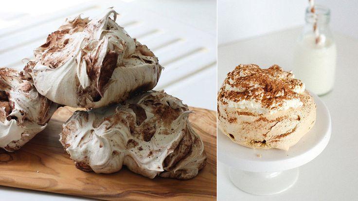Sjekk den nye desserttrenden: sprøe og seige gigamarengs