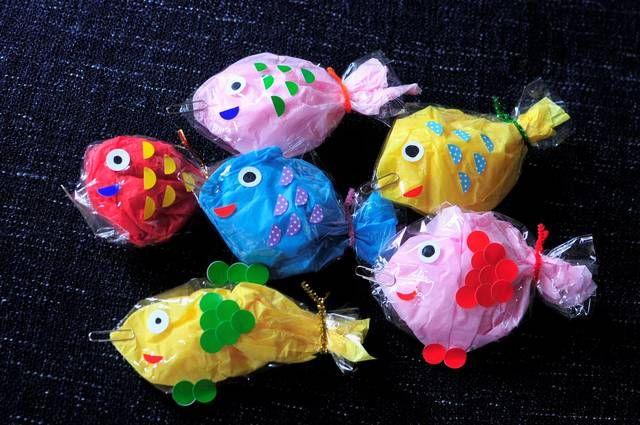 ゲーム 魚釣り 魚のイラスト11種類付き!『魚釣りゲーム』の作り方と遊び方