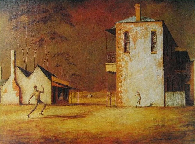 Sir Russell Drysdale ~ The Cricketers (1948)