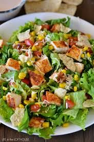 Image of chicken taco salad