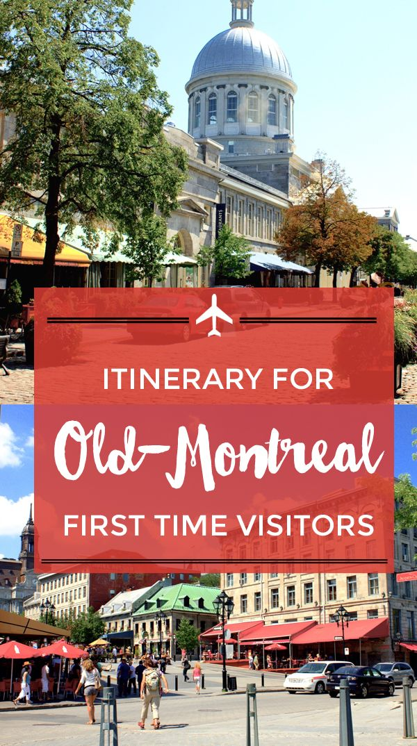 Walking itinerary for first-time visitors in Old Montreal - http://toeuropeandbeyond.com/an-itinerary-through-old-montreal/