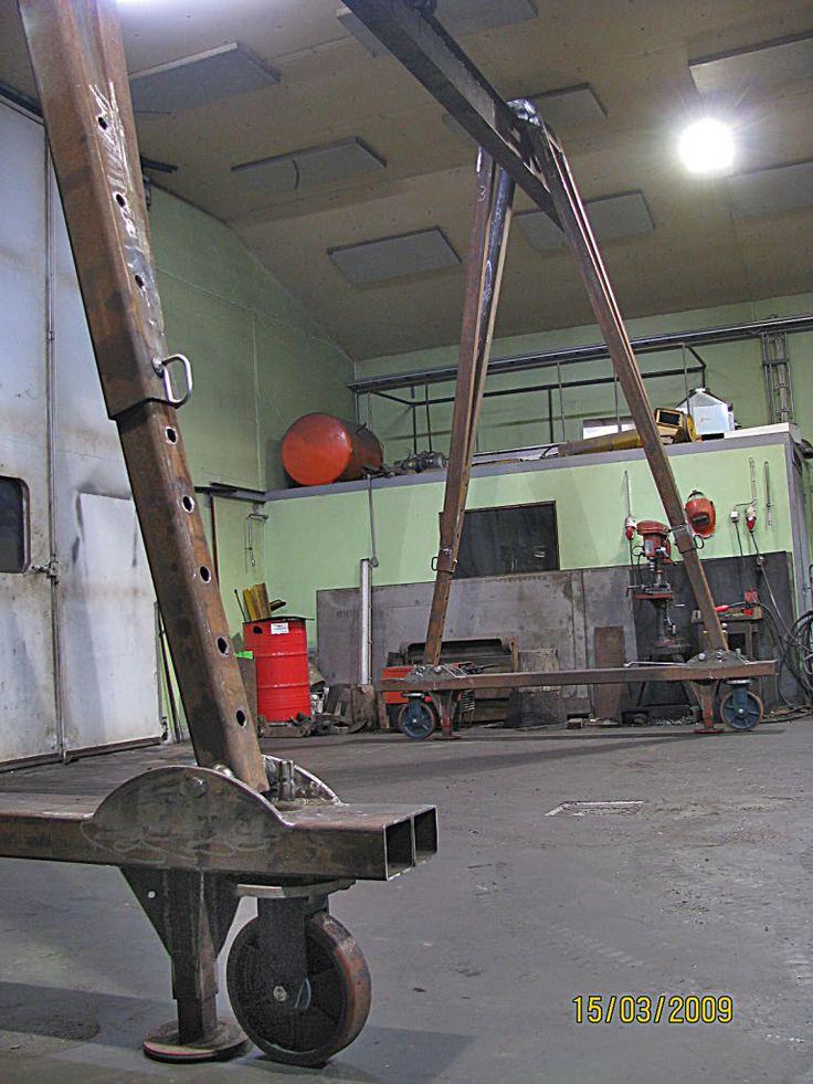 Gantry crane VS Engine hoist - Page 3
