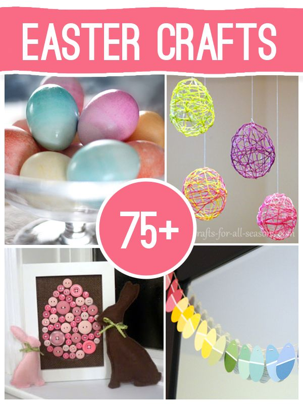 75 Easter Crafts to Make @savedbyloves